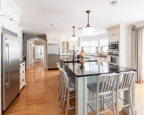 kitchen prep station mdf cabinets behr cottage white | houzz