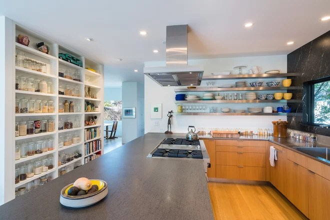 Contemporary Kitchen by Edward Caldwell Photography
