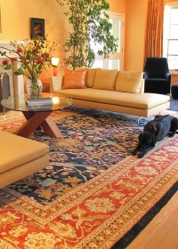 8 Secrets to Pairing Patterns With an Oriental Rug