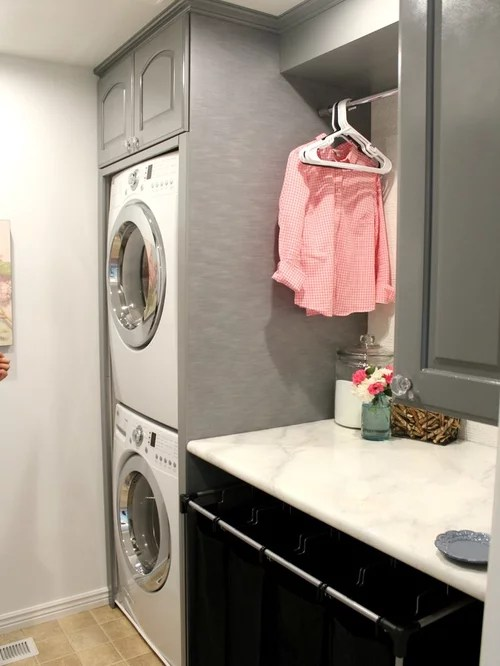 Small Laundry Room Solutions Home Design Ideas Pictures Remodel and Decor