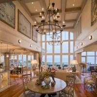 12 foot ceilings living room | www.myfamilyliving.com