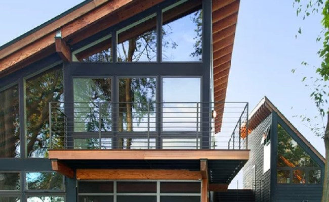 Sloped Roof Home Design Ideas Pictures Remodel And Decor