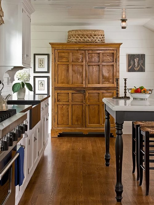 Kitchen Armoire  Houzz
