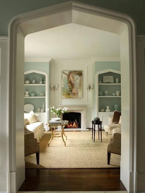 blue living room walls wall decoration sherwin williams rainwashed | houzz