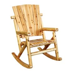 rustic outdoor chairs office chair with or without wheels 50 most popular patio furniture for 2019 leigh country aspen single rocker rocking