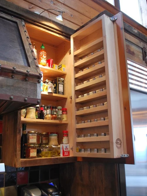 Built In Spice Rack Design Ideas Amp Remodel Pictures Houzz