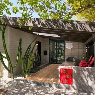 75 Most Popular Midcentury Modern Porch Design Ideas for