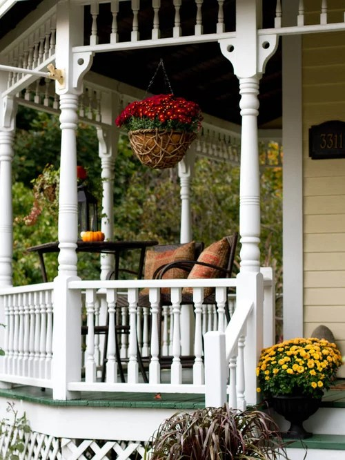 Porch Spindle Design Ideas  Remodel Pictures  Houzz