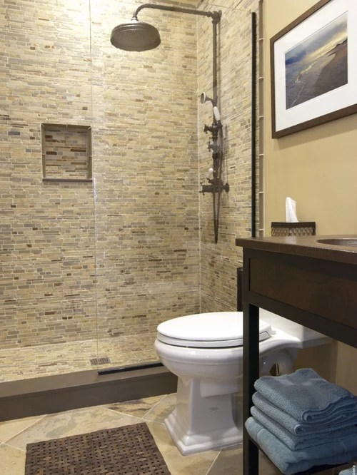Houzz  Matching Floor And Wall Tile Design Ideas  Remodel Pictures