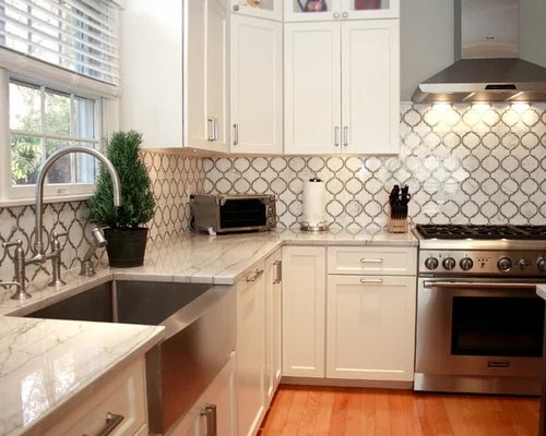 glass subway tile kitchen water heater best allen and roth design ideas & remodel pictures ...