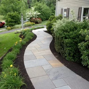 beautiful transitional landscaping