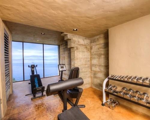 Best Mediterranean Home Gym Design Ideas  Remodel Pictures  Houzz