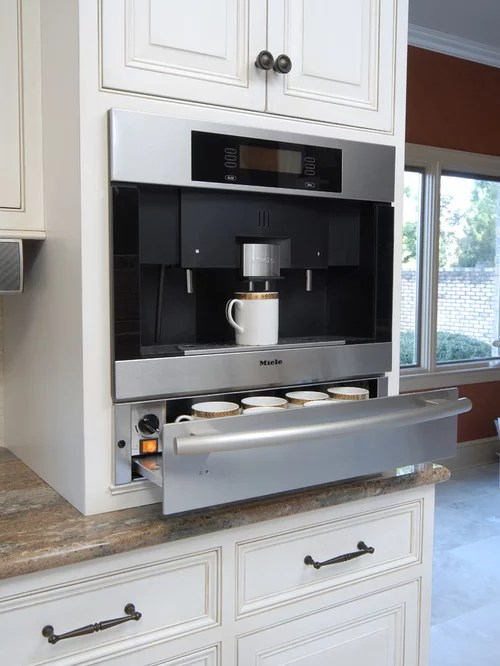 sears kitchen remodel kraftmaid kitchens gallery built in coffee maker ideas, pictures, and decor