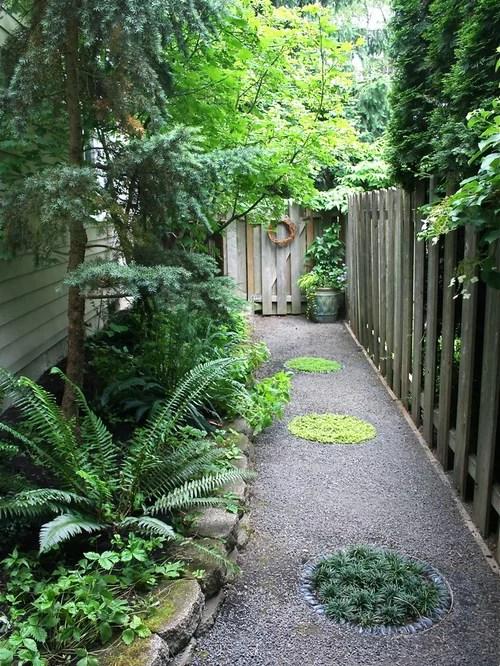 Narrow Side Yard Houzz