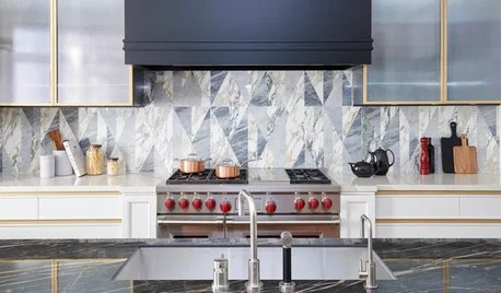 kitchen backsplashes large trash can on houzz tips from the experts photo flip behold these bold
