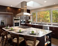 Stove Top In Island | Houzz