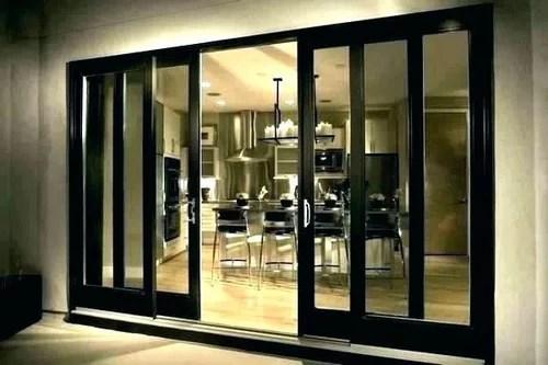 center opening sliding patio doors