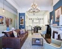 Square Living Room Home Design Ideas, Pictures, Remodel ...