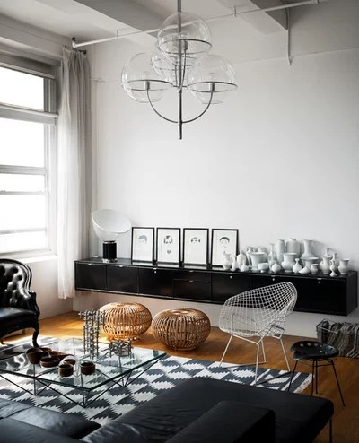 Industrial Living Room by Kit Republic