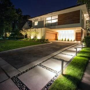 popular modern driveway