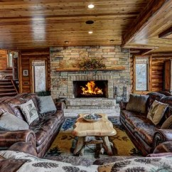 Rustic Living Rooms Room Ceiling 75 Most Popular With No Tv Design Ideas For 2019 Mountain Style Formal And Open Concept Photo In Other Brown Walls A