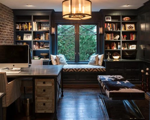 Best Industrial Home Office Design Ideas & Remodel Pictures Houzz