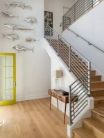 Beach Style Staircase Design Ideas, Remodels & Photos