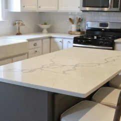 Beveled Subway Tile Kitchen Cost Statuario Venato Engineered Quartz