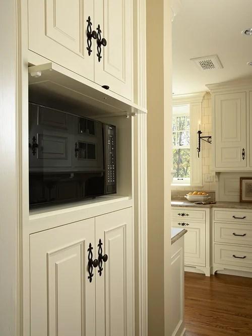 Hidden Microwave  Houzz