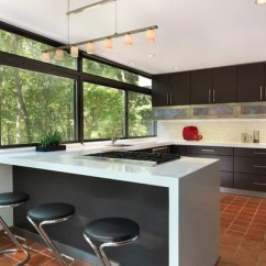 Farmhouse Undermount Kitchen Sink Needs Terra-cotta Tile Floor Home Design Ideas, Pictures ...