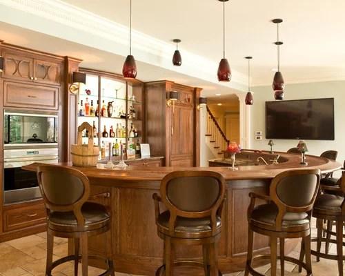 Family Room Bar  Houzz