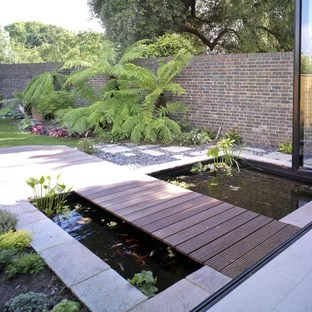 popular contemporary landscaping