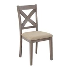 Farmhouse Dining Room Chairs Recliner Garden 50 Most Popular For 2019 Houzz Progressive Furniture Saxton Set Of 2 Mystic Gray