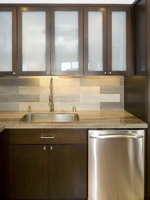 Frosted Glass Backsplash Home Design Ideas Pictures