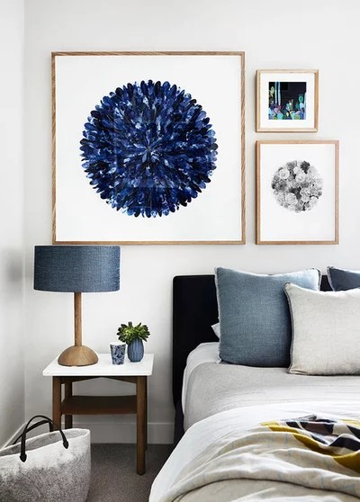Contemporary Bedroom by Gabrielle Reinhardt / Berkeley Interiors