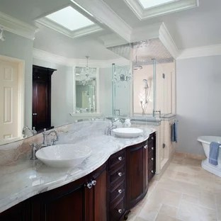 999 Beautiful French Country Bathroom With Marble Countertops Pictures Ideas November 2020 Houzz