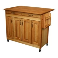 Unfinished Kitchen Cart Small Rustic Table 50 Most Popular Islands And Carts For 2019 Houzz Catskill Craftsmen Wood Butcher Block
