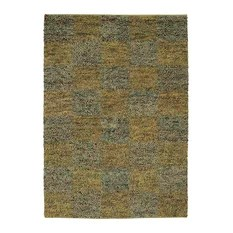 Chandra Strata STR-1111 Blue Gold 7'9 Round Rug