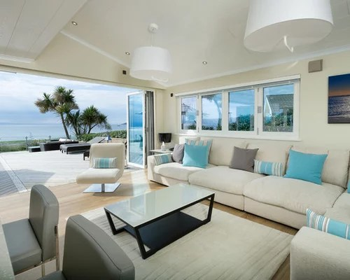 Coastal Living Room Houzz