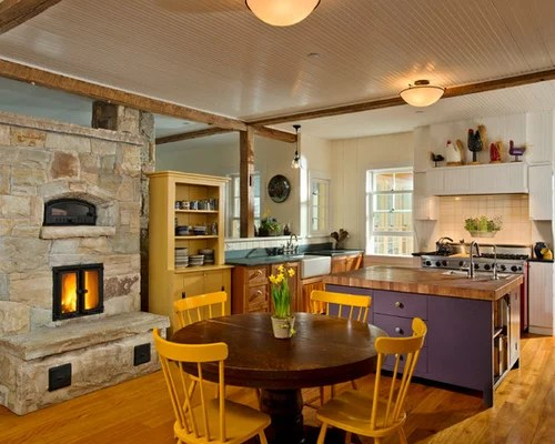Kitchen Fireplace Ideas Pictures Remodel And Decor