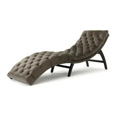 pictures of chaise lounge chairs replacement chair feet wood 50 most popular for 2019 on sale houzz gdfstudio garamond tufted new velvet gray indoor