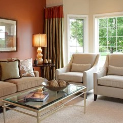 Burnt Orange Paint Color Living Room Colonial Sienna Ideas, Pictures, Remodel And Decor