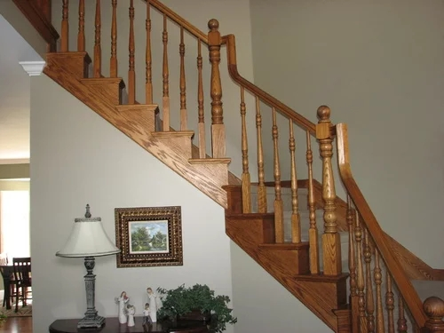 Wrought Iron Or White Wood For Stair Remodel   Cost Of New Banister And Spindles   Chris Loves Julia   Stair Parts   Stair Treads   Paint   Iron Stair