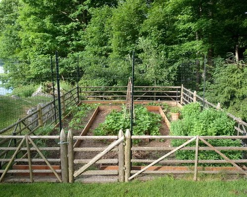 Vegetable Garden Fence Design Ideas & Remodel Pictures Houzz