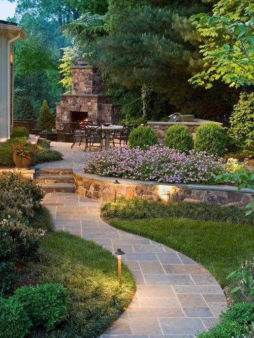 Backyard Landscape Ideas Designs Remodels & Photos
