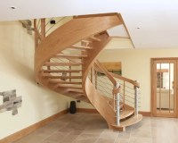 Curved Staircase Home Design Ideas, Renovations & Photos