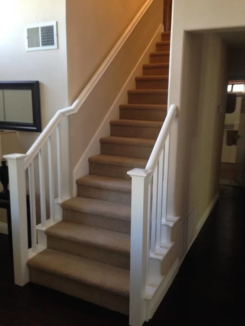Craftsman Stair Railing Home Design Ideas, Pictures
