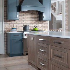 Cherry Wood Kitchen Island Table Combo Driftwood Cabinets Ideas, Pictures, Remodel And Decor