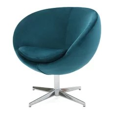 dark teal accent chair folding covers amazon 50 most popular turquoise armchairs and chairs for 2019 houzz gdfstudio sphera new velvet modern