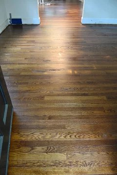 Minwax Natural Stain On Oak